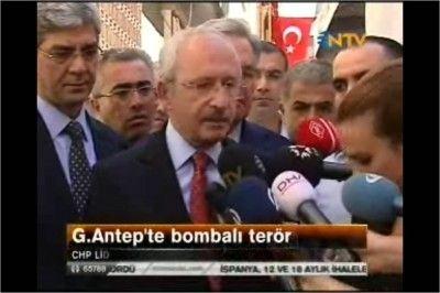 Kılıçdaroğlu: Niçin Gaziantep Seçilmiştir?