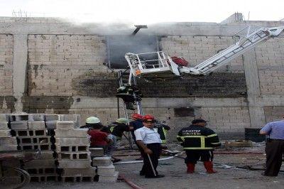 Gaziantep'te Korkutan Yangın...