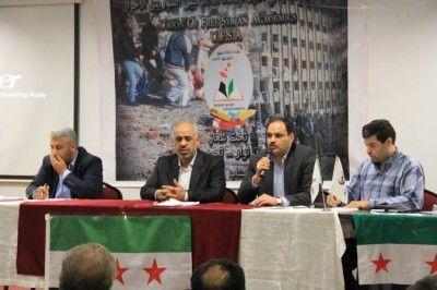 ' Özgür Suriye Akademisyenler Birliği ' Kuruluşunu Gaziantep'te İlan Etti.