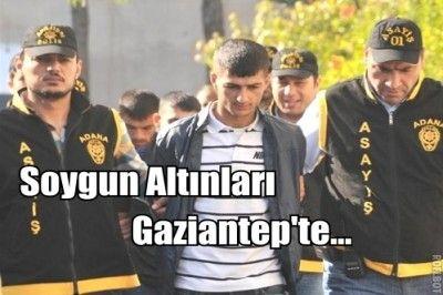 Kuyumcuyu Soydu Gaziantep'e Geldi,  Elbiselerini Fırında Yaktı...