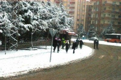 Gaziantep Valiliği'nden Kar Açıklaması.Kimler İdari İzinli Sayılacak