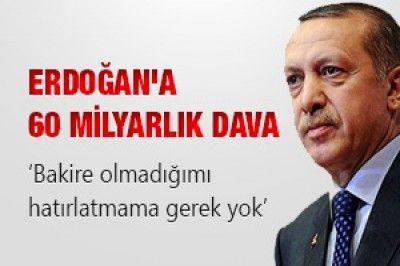Erdoğan'a 60 milyarlık dava