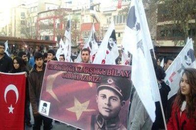 Devrim Şehidi Kubilay Gaziantep'te anıldı...