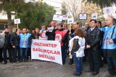 Aile Hekimlerinden Gaziantep'te Eylem...