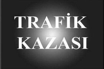 Gaziantep'te Kaza: 1 Ölü 1 Yaralı var...