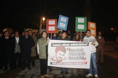 Gaziantep'te ' Ali İsmail Korkmaz ' Protestosu