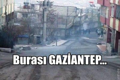 SON DAKİKA...Gaziantep'te Ortalık Karıştı. Polis Müdahale Ediyor..
