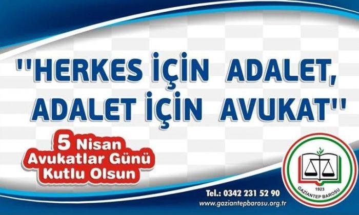 Terör; Gaziantep Barosu'na Etkinlik İptal Ettirdi...