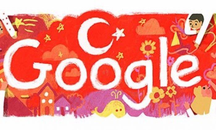 Google'dan 23 Nisan Doodle Jesti..