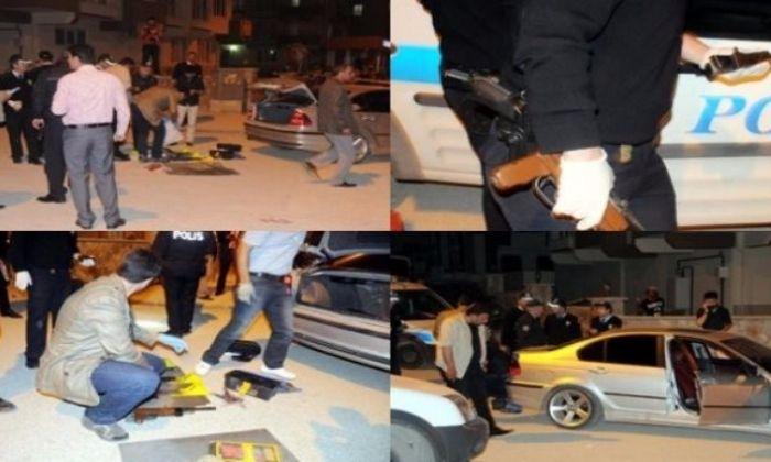 Gaziantep'te Esrarengiz Otomobil.2'si Kadın 5 Gözaltı
