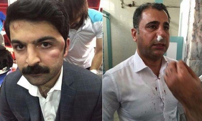 Amedspor'lu yöneticilere saldırı