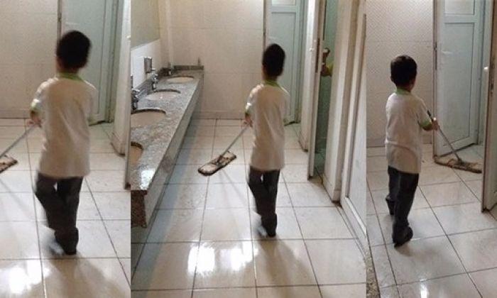 Gaziantep'te Öğrenciler Tuvalet mi Temizliyor. Valilik Açıklama Yaptı