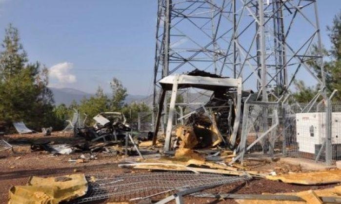 PKK, Gaziantep'te baz istasyonuna saldırdı, haberleşme kesildi