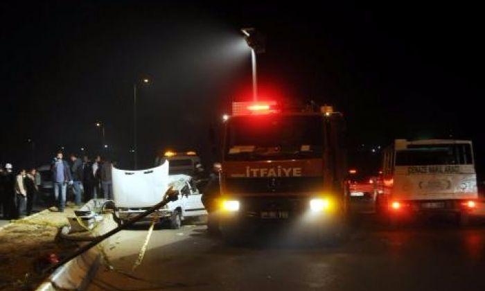 Gaziantep'te Feci Kaza. Ölü ve Yaralılar var