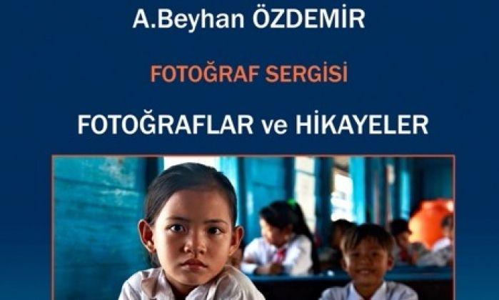 """Beyhan Özdemir'in """"Fotoğraflar ve Hikayeler"""" Sergisi Gaziantep'te"""