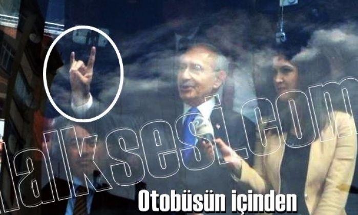 Kılıçdaroğlu yine bozkurt selamı verdi