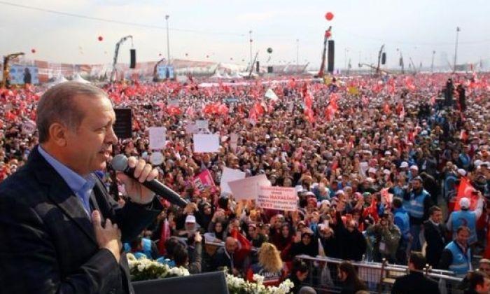 Times: Ücretsiz otobüslere rağmen Erdoğan'ın mitingine katılım düşük