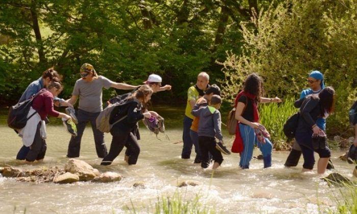 Gaziantep'te Habeş Kanyonu'na doğa yürüyüşü…