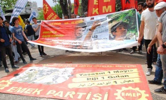 Gaziantep'te 1 Mayıs: 300 Kişiye Basın Açıklaması !