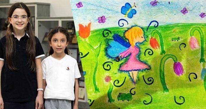 Sanko Okulları öğrencisi resim yarışmasında birinci oldu