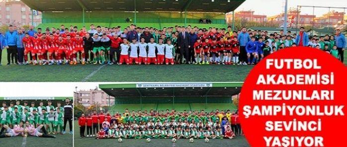 Şehitkamil U 14 Futbol Takımı, sezonunu şampiyon olarak tamamladı