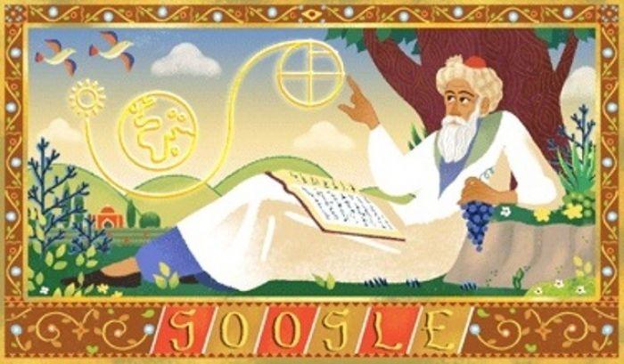 Google, Ömer Hayyam'ı Doodle Yaptı