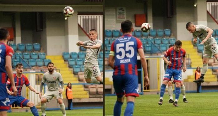 Deplasman'da 6-1 Galip gelen Gaziantep Play-Of'da...