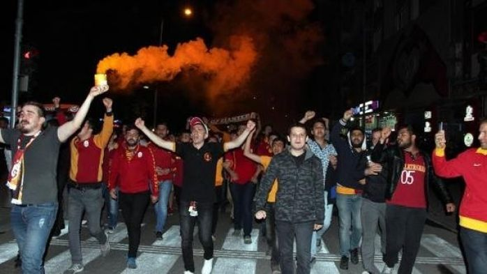 Gaziantep'te Coşkulu Şampiyonluk Kutlaması