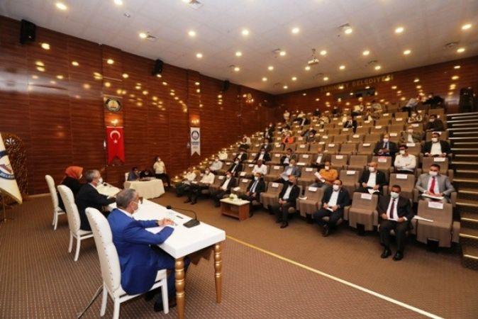 Şahinbey Belediyesi Haziran ayı meclis toplantısı yapıldı