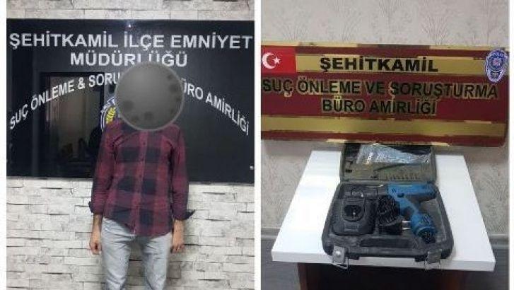 Gaziantep'in ' Uyanık ' Hırsızı Nasıl Yakalandı?