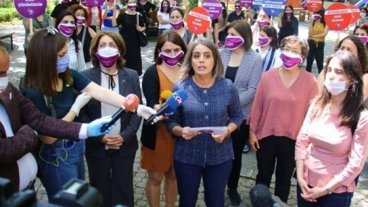 'Kadın mücadelesi her yerde' kampanyasının startı verildi