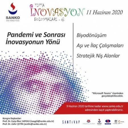 """Gaziantep'te """"Pandemi ve Sonrası İnovasyonun Yönü"""" Konferansı"""