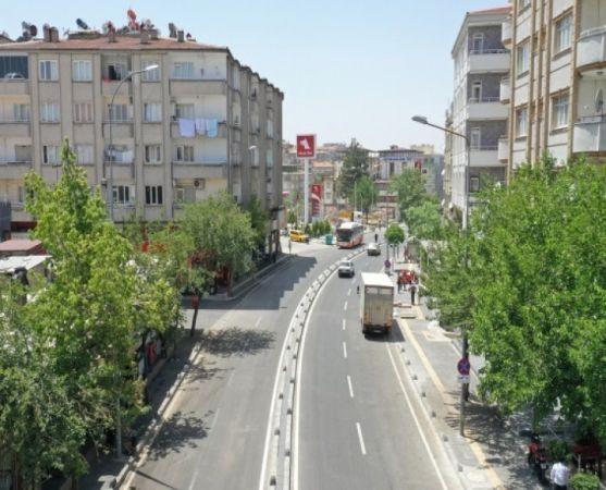 İşte Gaziantep İnönü Caddesi'nin Yeni Görünümü
