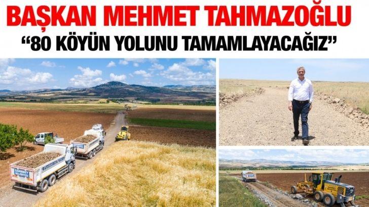 Şahinbey Belediyesi, 80 köyün yolunu tamamlayacak
