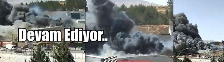 Gaziantep Organize'de Büyük Yangın...