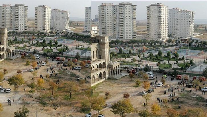 Akkent Camii'de Bu Kez Yangın Çıktı