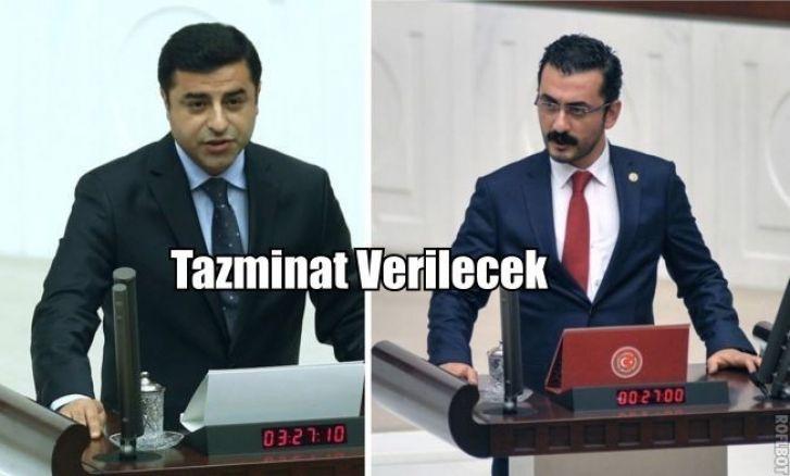 Anayasa Mahkemesinden Selahattin Demirtaş ve Eren Erdem kararı