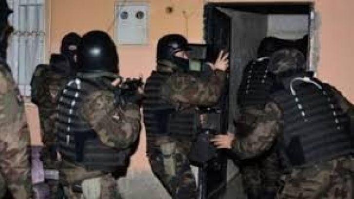 Gaziantep'te 5 Ayrı Mahallede Operasyon.