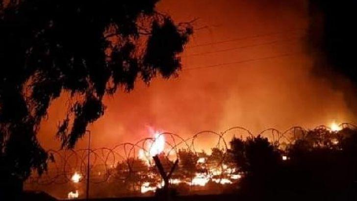 Ayvalık ' Şeytan Sofrası' nda Orman Yangını
