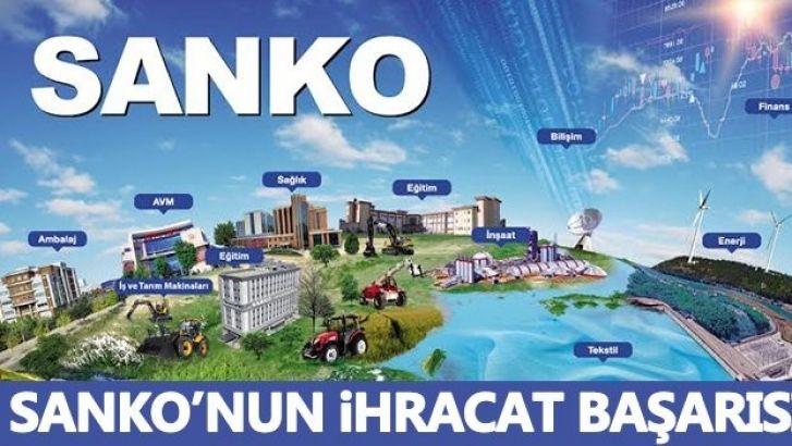 SANKO'nun ihracat başarısı...