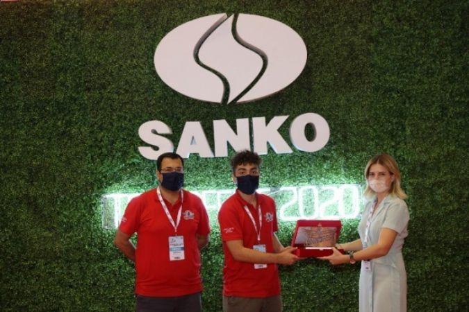 Sanko Holding sponsorluğunda düzenlenen yarışmada dereceye girenler ödüllendirildi