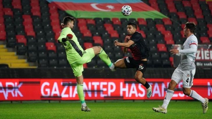 Gaziantep Beşiktaş'ı 3-1 Yendi