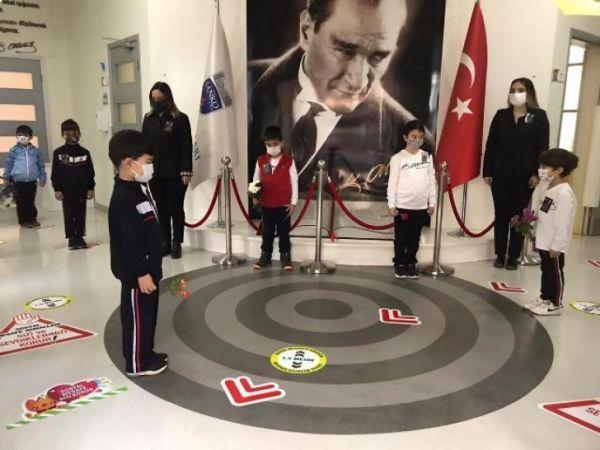 Sanko Okulları'nda Atatürk Anması...