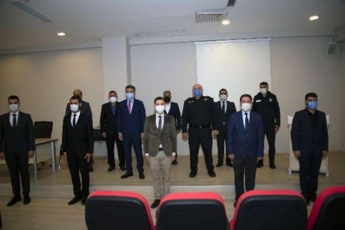 Gaziantep'te Başarılı Polisler Ödüllendirildi