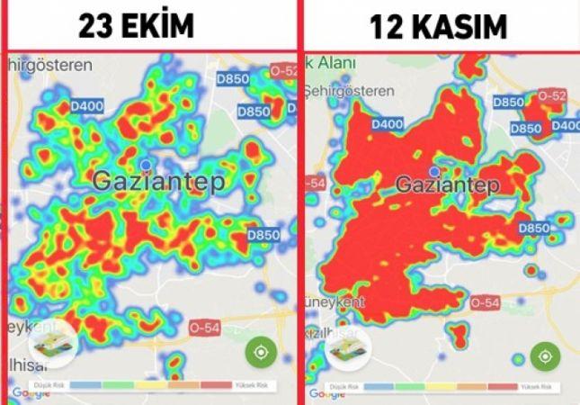 İşte Gaziantep'te Dün Koronavirüsten Kaynaklı Ölüm Listesi
