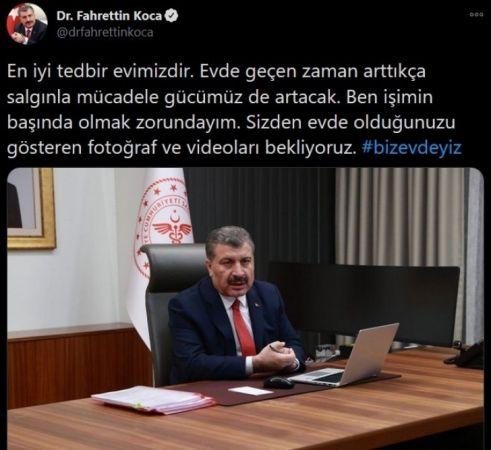 Bakan Fahrettin Koca'yı Pişman Ettirecek İstek