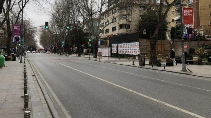 Ülke genelinde dün başlayan sokağa çıkma kısıtlaması sona erdi