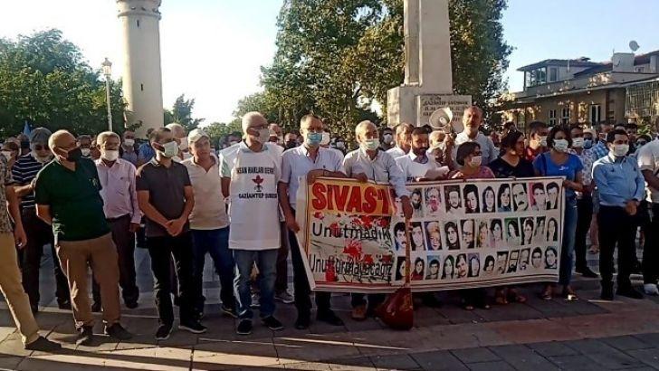 ' Sivas Katliamı ' Gaziantep'te de Lanetlendi