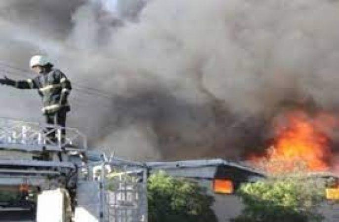 Gaziantep Organize Sanayide Yangın...
