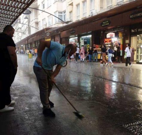 Gaziantep'te Şiddetli Yağmur...